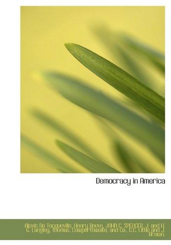 9781140554561: Democracy in America