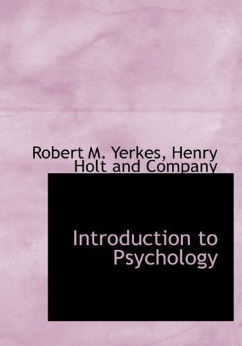 9781140585923: Introduction to Psychology