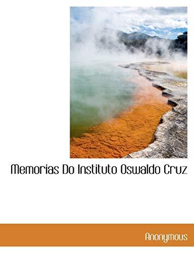 9781140609070: Memorias Do Instituto Oswaldo Cruz
