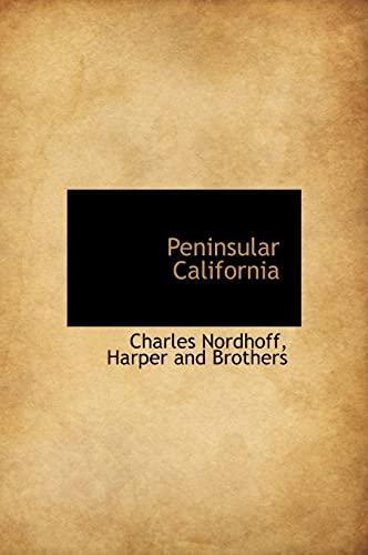 9781140615293: Peninsular California