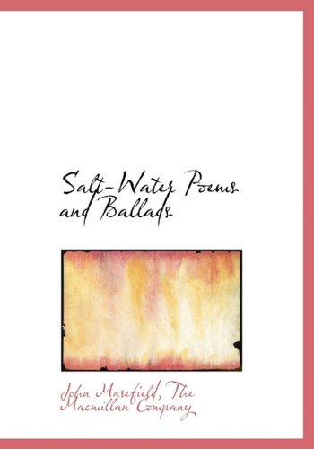 9781140620976: Salt-Water Poems and Ballads
