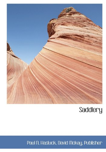 Saddlery (9781140621348) by Paul N. Hasluck