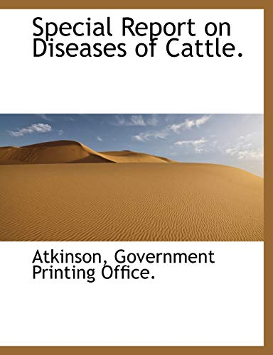 Special Report on Diseases of Cattle. (1140634607) by Atkinson