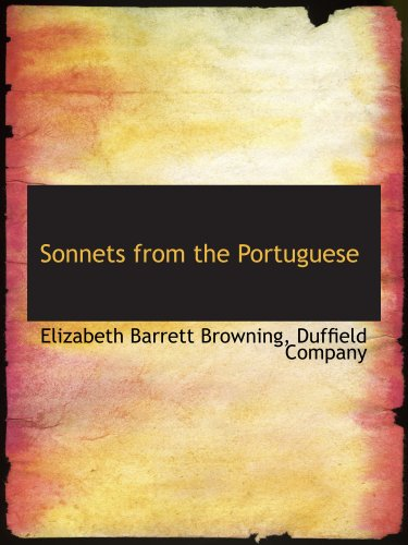 9781140635130: Sonnets from the Portuguese