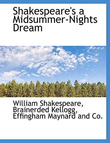 Shakespeare's a Midsummer-Nights Dream