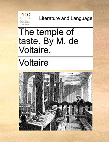 9781140720782: The temple of taste. By M. de Voltaire.