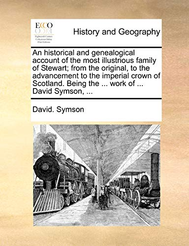 An Historical and Genealogical Account of the: David Symson