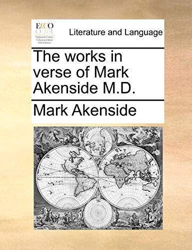 9781140805489: The works in verse of Mark Akenside M.D.