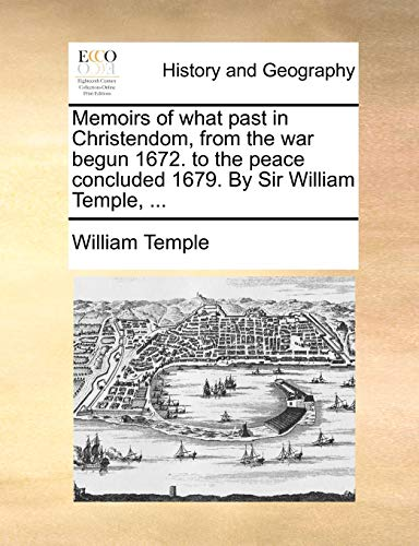 Memoirs of What Past in Christendom, from: William Temple
