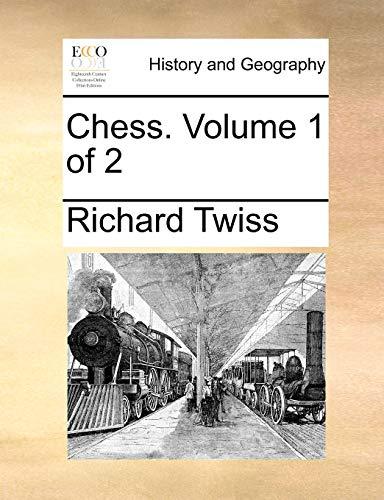 9781140990406: Chess. Volume 1 of 2