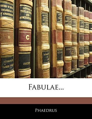 9781141205523: Fabulae... (Latin Edition)
