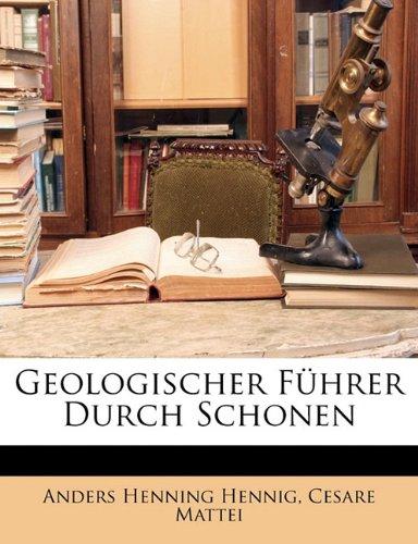 9781141213375: Geologischer Fuhrer Durch Schonen