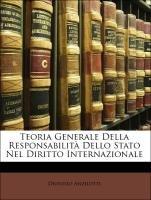 9781141264124: Teoria Generale Della Responsabilita Dello Stato Nel Diritto Internazionale