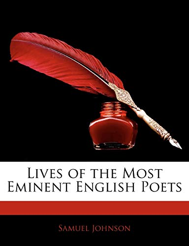 9781141917648: Lives of the Most Eminent English Poets