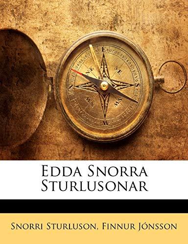 9781142144623: Edda Snorra Sturlusonar (Icelandic Edition)