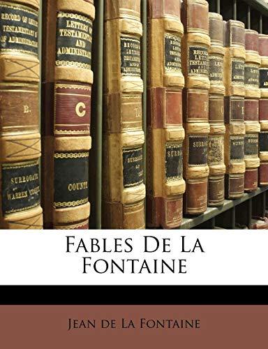 9781142196851: Fables De La Fontaine