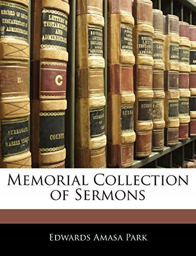 9781142212094: Memorial Collection of Sermons