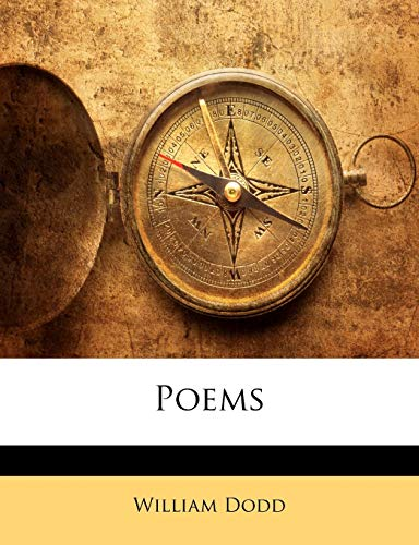 Poems (1142567796) by Dodd, William