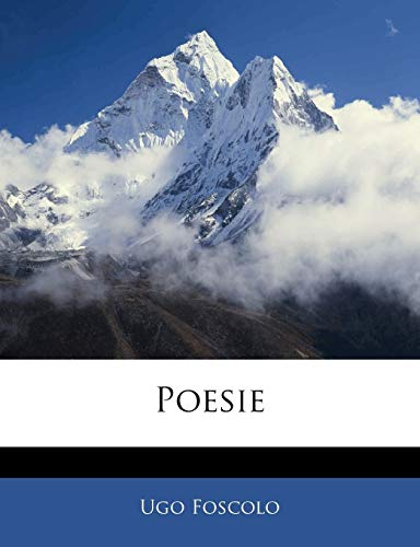 9781142705992: Poesie (Italian Edition)