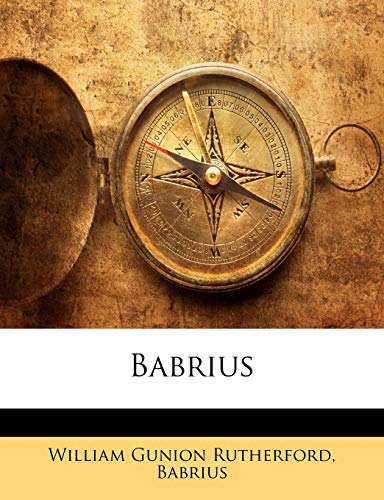 9781142761134: Babrius (Ancient Greek Edition)