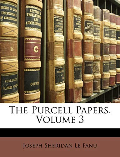 9781142801427: The Purcell Papers, Volume 3