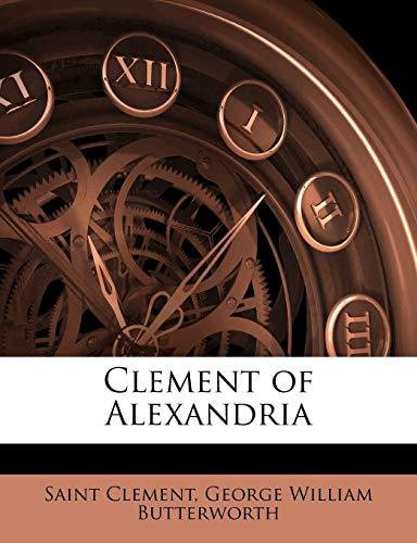 9781143049859: Clement of Alexandria