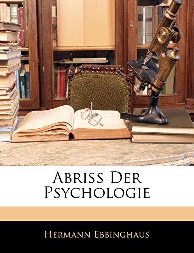 9781143064937: Abriss Der Psychologie (German Edition)
