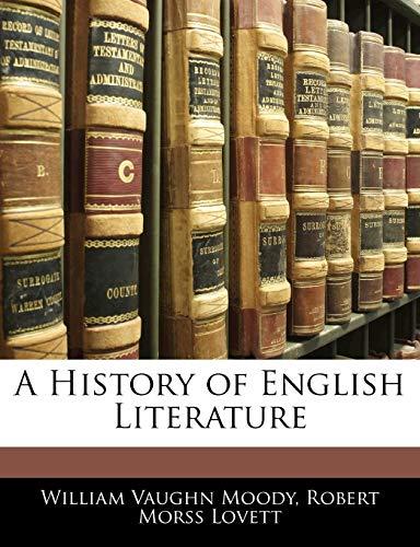 9781143067969: A History of English Literature