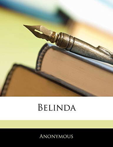 9781143343117: Belinda