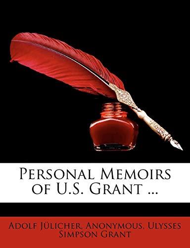 9781143441783: Personal Memoirs of U.S. Grant ...