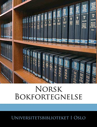 9781143505270: Norsk Bokfortegnelse (Norwegian Edition)