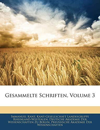 9781143751257: Kant's Gesammelte Schriften. (German Edition)