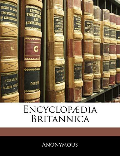 9781144055460: Encyclopædia Britannica