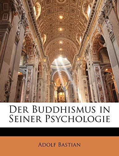 9781144157492: Der Buddhismus in Seiner Psychologie