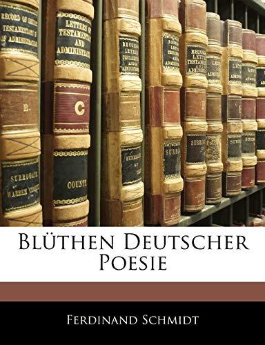 9781144173621: Bluthen Deutscher Poesie