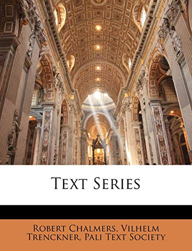 Text Series (9781144194961) by Robert Chalmers