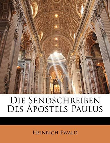 9781144334565: Die Sendschreiben Des Apostels Paulus (German Edition)