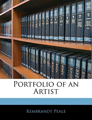 9781144720597: Portfolio of an Artist
