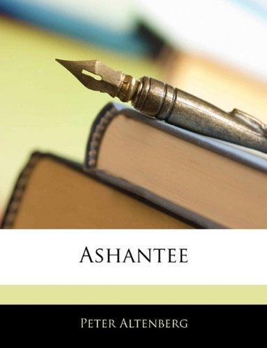 9781144772336: Ashantee (German Edition)