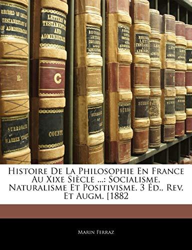 Histoire De La Philosophie En France Au