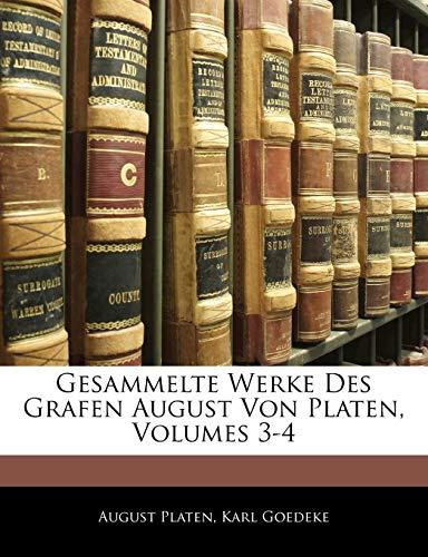 9781145140196: Gesammelte Werke Des Grafen August Von Platen, Fuenfter Band