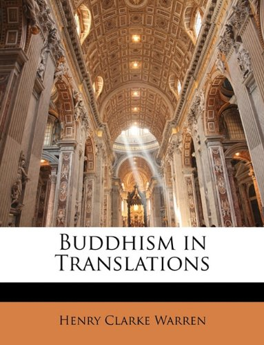 9781145326170: Buddhism in Translations