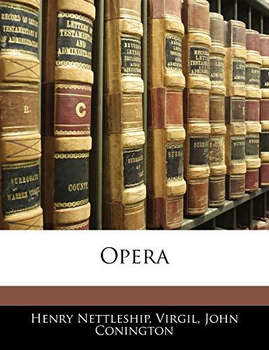 9781145481046: Opera (Latin Edition)