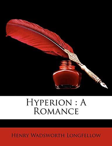 9781145586062: Hyperion: A Romance