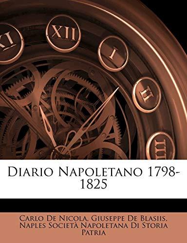 9781145604940: Diario Napoletano 1798-1825