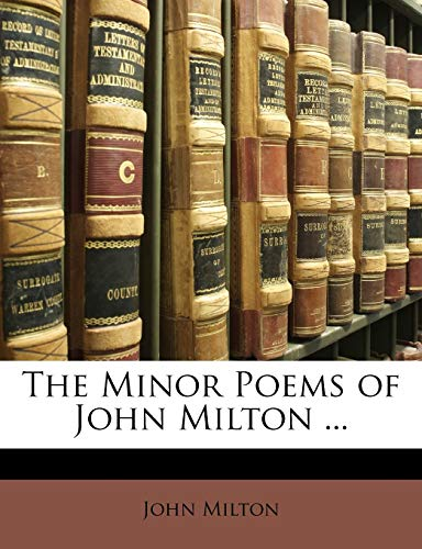 9781146073783: The Minor Poems of John Milton ...