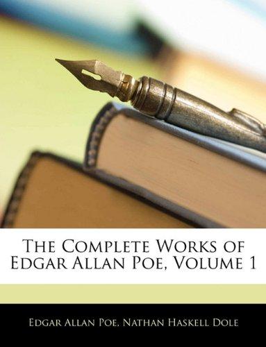 9781146138963: The Complete Works of Edgar Allan Poe, Volume 1