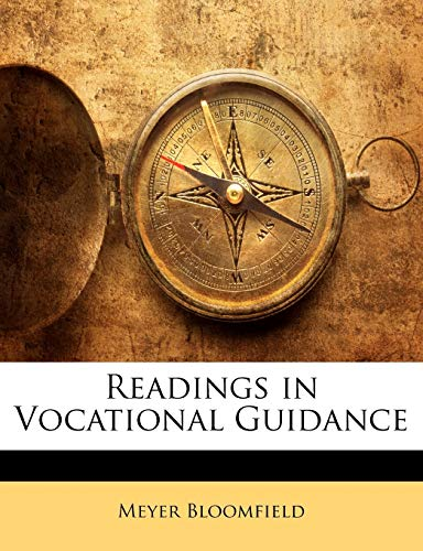 9781146545822: Readings in Vocational Guidance