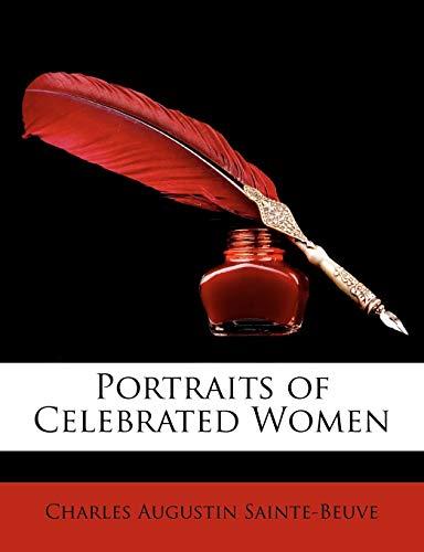 9781146800853: Portraits of Celebrated Women