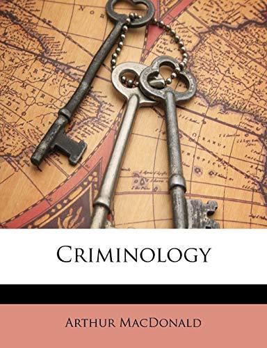 9781146893916: Criminology
